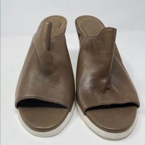 Barneys New York Leather Mules